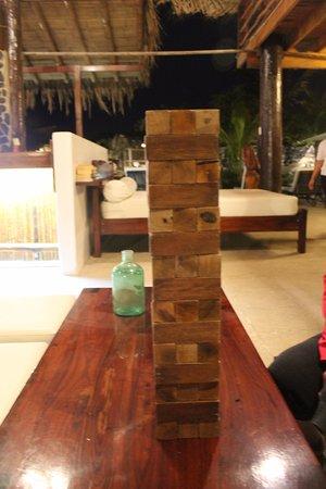 Foto De Villa Sirena Vichayito Juego De Jenga Gigante Tripadvisor