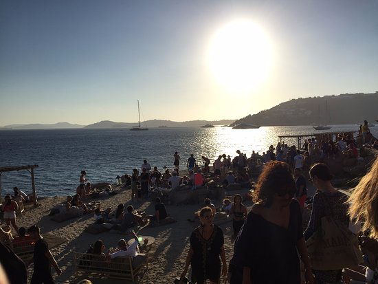 Paraga, Hellas: sunset in Scorpios