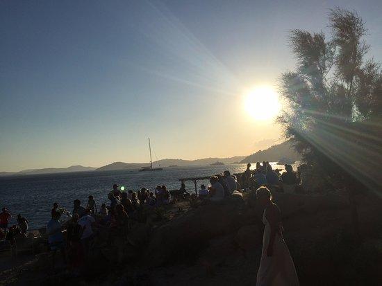 Paraga, اليونان: Beutiful sunset