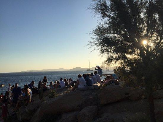 Paraga, اليونان: evening in Scorpios