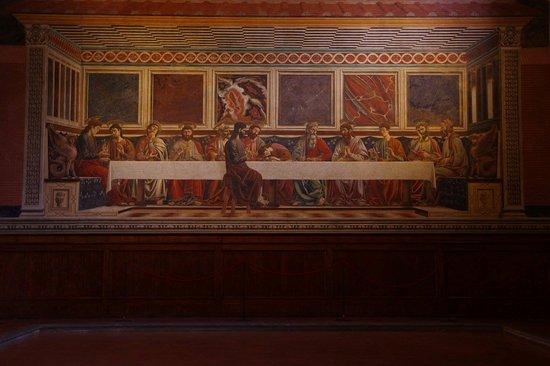 The Last Supper Andrea del Castagno Cenacolo di Sant Apollonia
