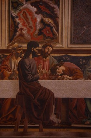The Last Supper Andrea del Castagno Cenacolo di Sant Apollonia