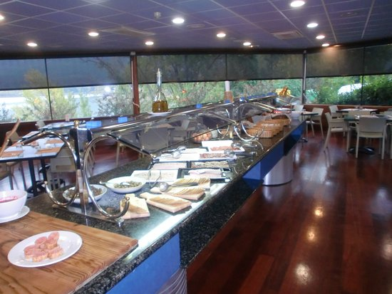 Cellers, Spanje: buffet