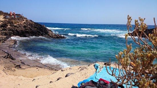 Mala, España: ...а это в прилив