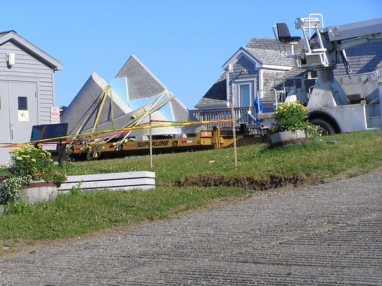 Lubec, ME: Ready for its installation
