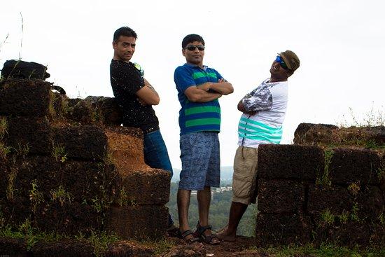 Chapora, India: dil chahta hai