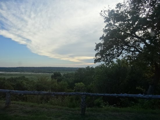 Marietta, Οκλαχόμα: Red river view from inside