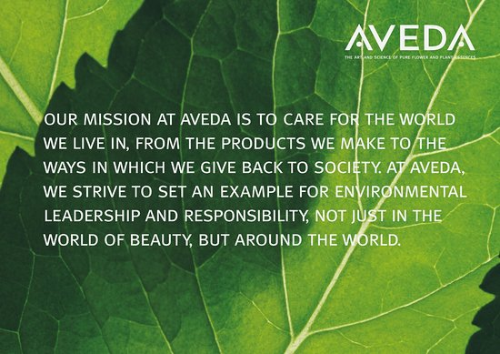 Aveda Mission Statement Picture Of Five Lakes Spa Aveda Niagara