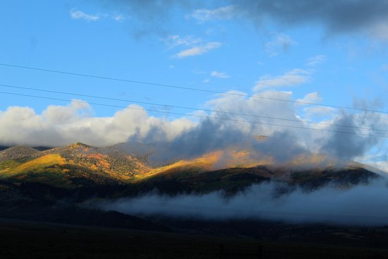 Buena Vista, CO: To the East at sunrise