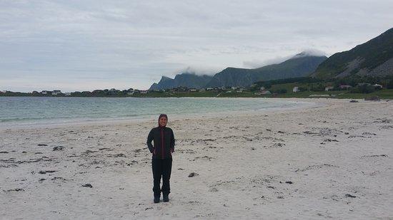 Flakstad Municipality, Norge: on the beach 2