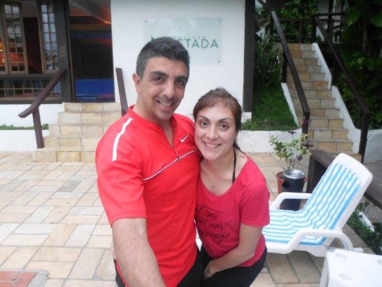 Pousada Lestada: Festejando el arribo a Buzios