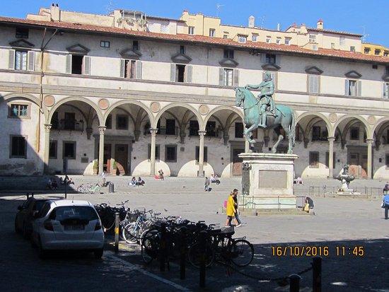 Hotel Loggiato dei Serviti: View of hotel
