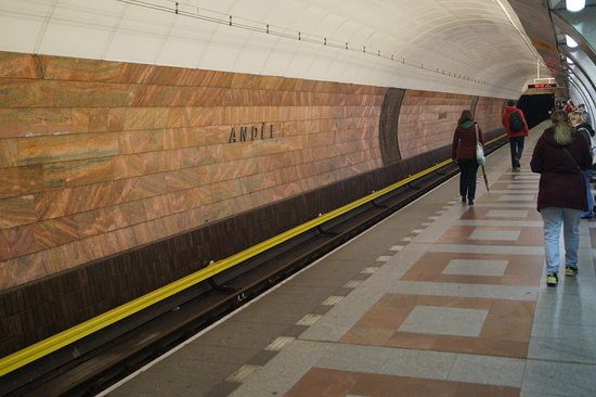 Andel Metro Station