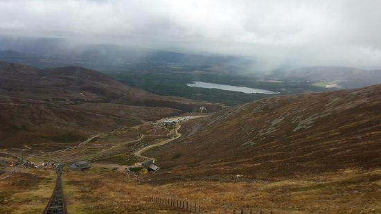 Aviemore, UK: We did get some views