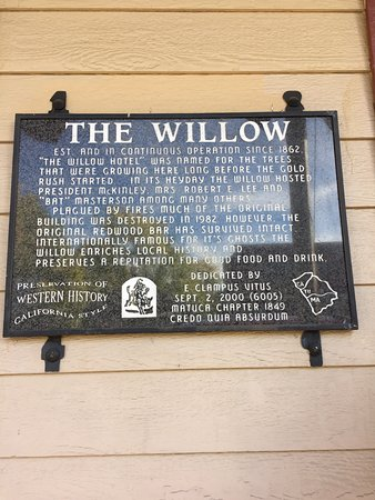 Jamestown, Kaliforniya: The Willow