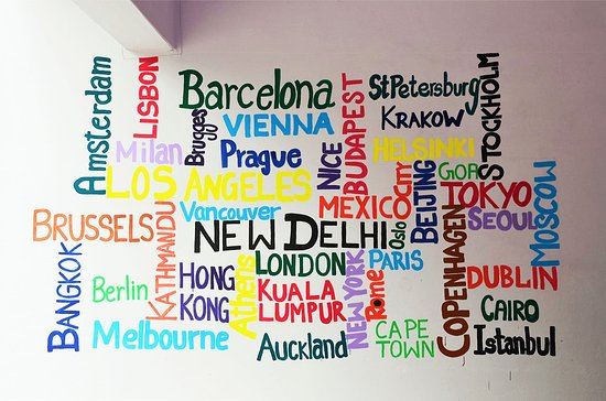 Delhi, แคนาดา: Our travel inspiration wall