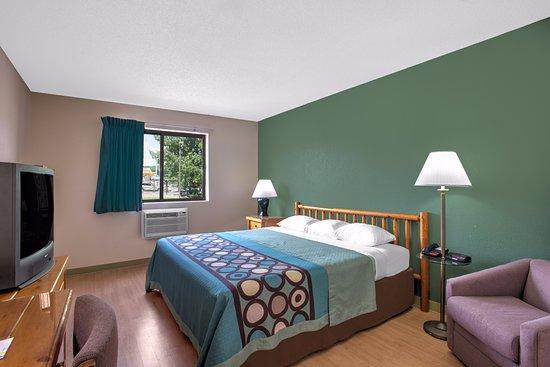 Ticonderoga, estado de Nueva York: One King Bed Room