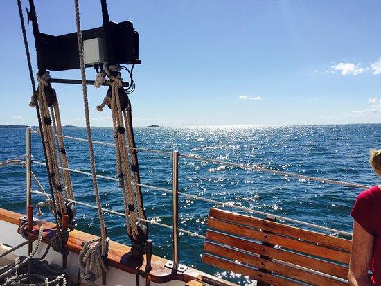 Argia Cruises: View at sea