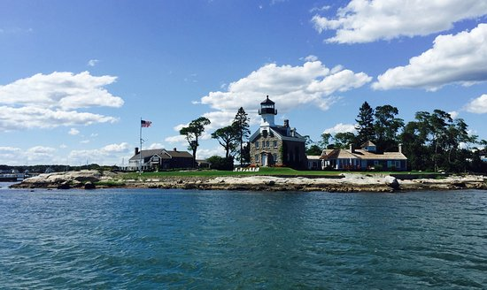 View of Noank, CT from Argia Cruises