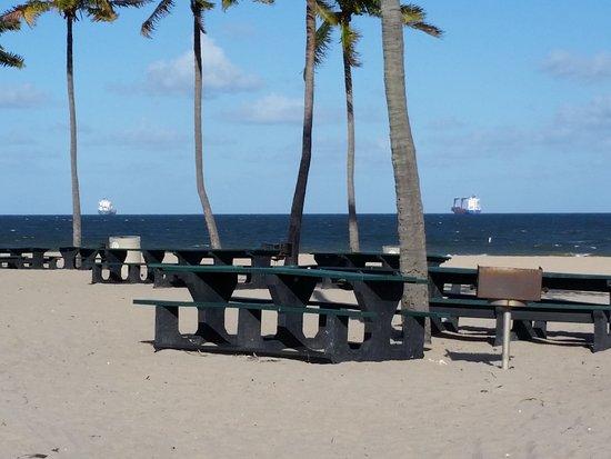 Fort Lauderdale Beach: All teh ships at sea - Atlantic Ocean