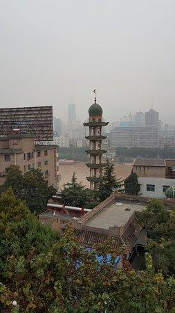Lanzhou, China: 白塔山公園