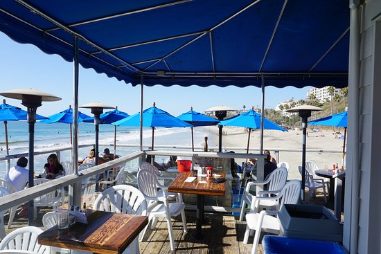 San Clemente, Califórnia: Patio overlooking the sea