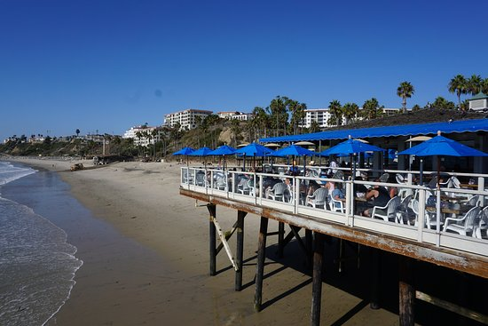 San Clemente, Califórnia: View of the Restaurant from Pier