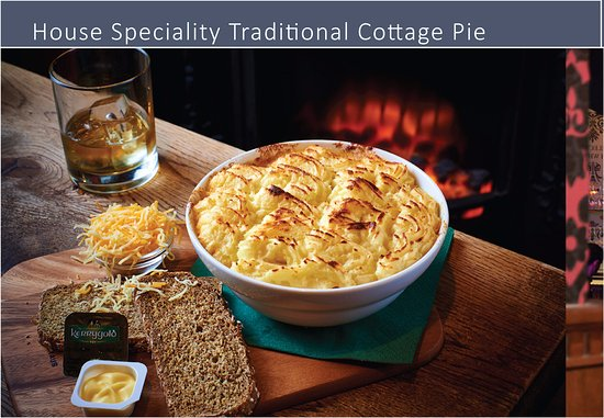 O'Reilly's Irish Pub: Made to order with the finest ingredients... Ideal for a cold winter night..