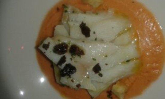Stocco in gazpacho