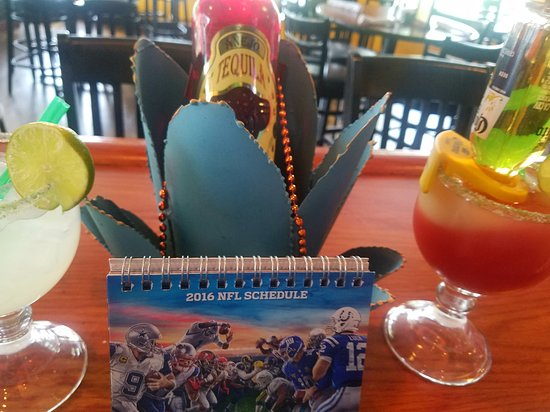 Great Falls, VA: Best Tex-Mex fresh-squeezed margaritas coming from  Houston Texas
