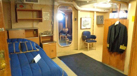 Camden, Nueva Jersey: Captain's quarters