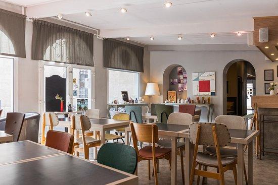 Hôtel Edmond Rostand: Salon de Thé-Café D'Edmond