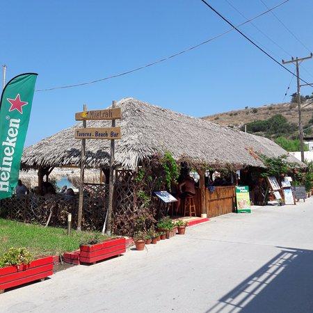 Mistrali Taverna beach bar