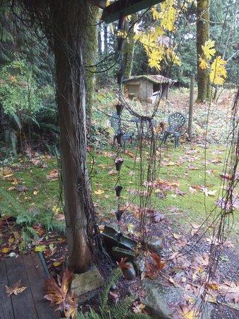 Courtenay, كندا: Applewood Cottage - rain spout
