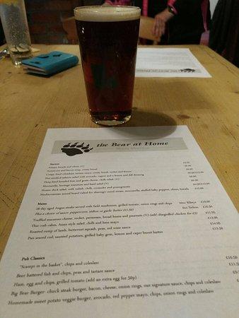 Didcot, UK: Delicious Ale