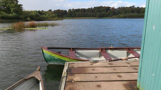 Newmarket-on-Fergus, Ireland: boats on the lake
