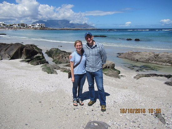 Bloubergstrand Beach: Tabel Mountain in the background