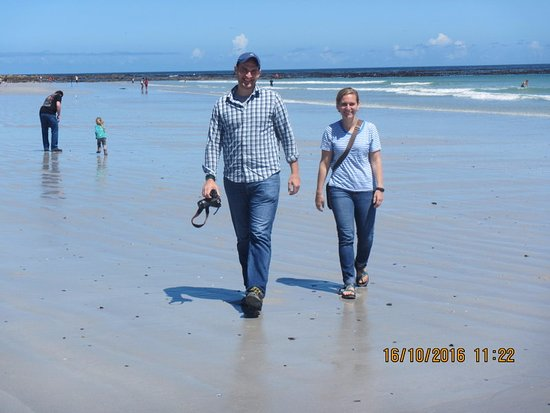 Bloubergstrand Beach: Great walks along the beach