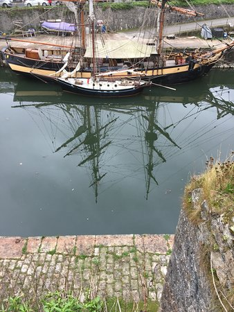 St Austell, UK: Tall ship