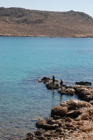 Halki, Grecja: you can catch your dinner yourself