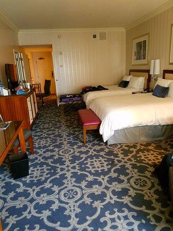 Loews New Orleans Hotel: Grand 2 Queen Room