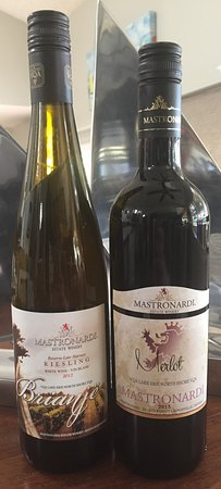 Mastronardi Estate Winery: Our favorites, Merlot and Late Harvest Riesling (both 2013)