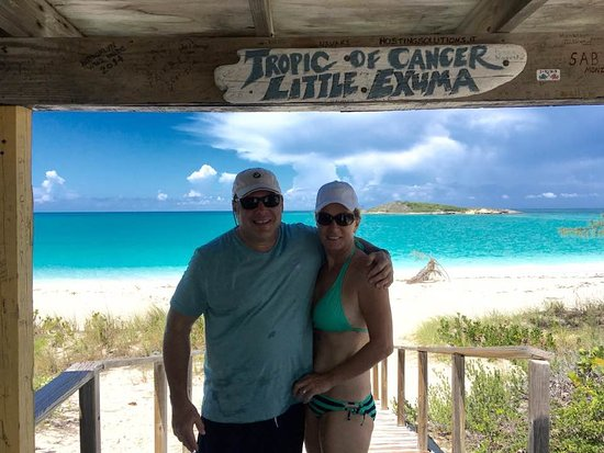 Out Islands: Tropic of Cancer Beach, Little Exuma