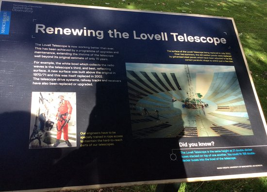 Jodrell Bank Discovery Centre : Lots of interesting information around the site