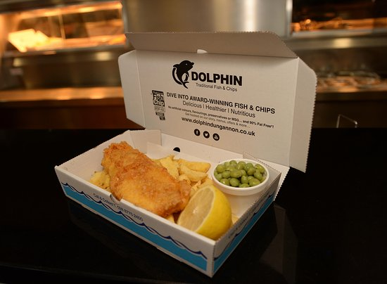 best fish chips in a long time the dolphin takeaway dungannon traveller reviews tripadvisor