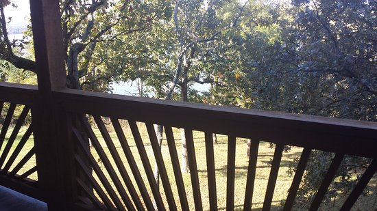 Hunter's Friend Resort & Condos: on the back deck