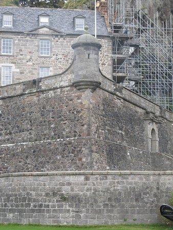 Dumbarton, UK: Mura della fortezza
