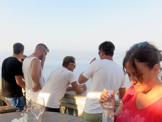 Restaurant Nada : Sulla terrazza del Nada