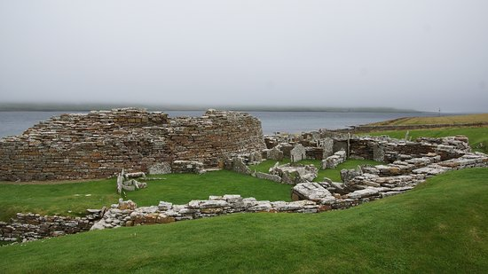Evie, UK: Broch of Gurness Fuori
