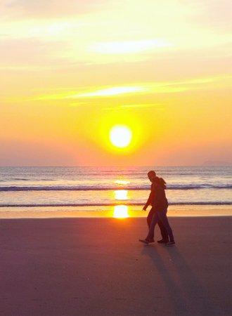 Evening On the Beach - Newgale